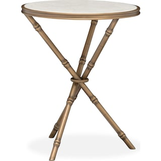Essex Side Table - Brass