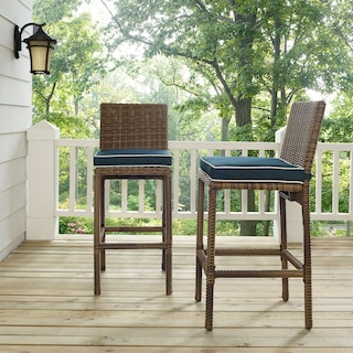 Destin Outdoor Set of 2 Barstools