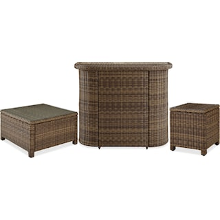 The Destin Outdoor Table Collection