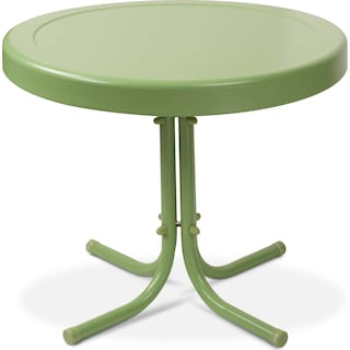 Apollo Outdoor Side Table - Green