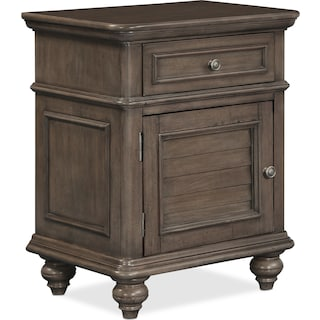 Charleston Nightstand - Gray