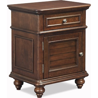 Charleston Nightstand - Tobacco