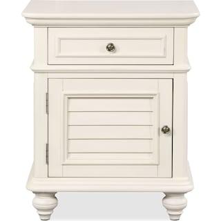 Charleston Nightstand - White