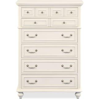 Charleston Chest - White