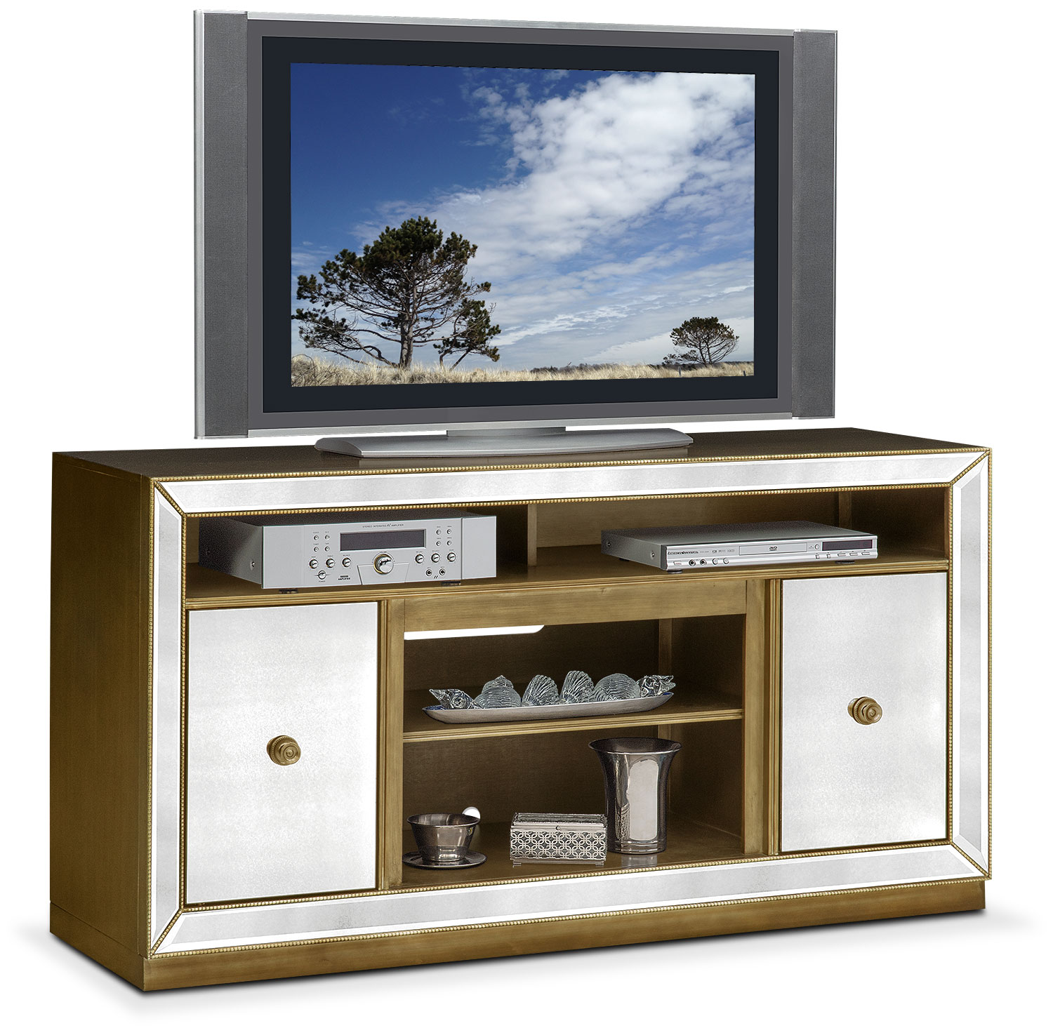 Entertainment Furniture - Reflection TV Stand - Mirror