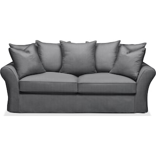 Allison Sofa- Comfort in Depalma Charcoal
