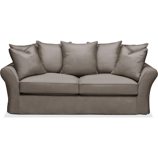 Allison Sofa- Cumulus in Oakley III Granite