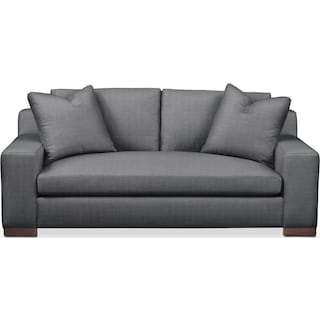 Ethan Apartment Sofa- Comfort in Depalma Charcoal