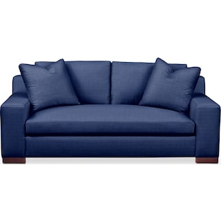 Ethan Apartment Sofa- Comfort in Abington TW Indigo