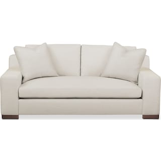 Ethan Apartment Sofa- Comfort in Anders Ivory