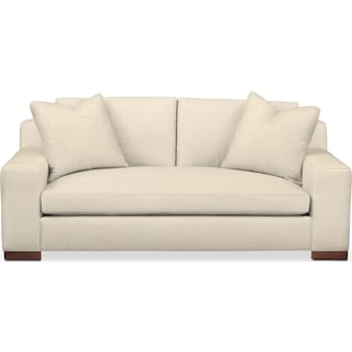 Ethan Apartment Sofa- Comfort in Anders Cloud