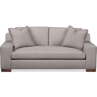 Ethan Apartment Sofa- Cumulus in Curious Silver Rine