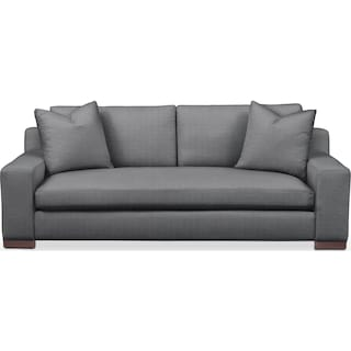 Ethan Sofa- Comfort in Depalma Charcoal