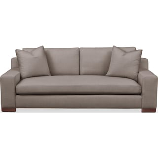 Ethan Sofa- Cumulus in Oakley III Granite