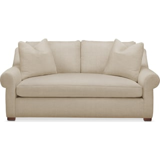 Asher Apartment Sofa- Comfort in Depalma Taupe