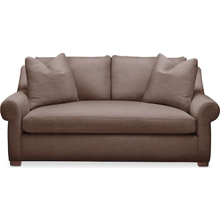 Asher Apartment Sofa- Comfort in Oakley III Java