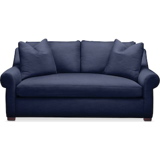 Asher Apartment Sofa- Comfort in Oakley III Ink