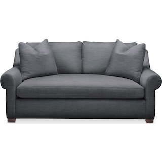 Asher Apartment Sofa- Comfort in Milford II Charcoal