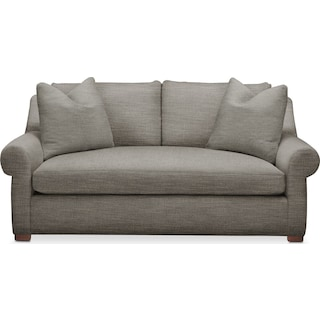 Asher Apartment Sofa- Comfort in Victory Smoke