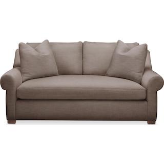 Asher Apartment Sofa- Comfort in Hugo Mocha