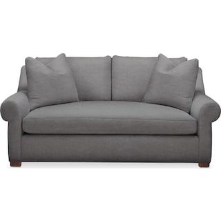 Asher Apartment Sofa- Comfort in Hugo Graphite