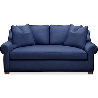 Asher Apartment Sofa- Comfort in Abington TW Indigo