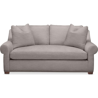 Asher Apartment Sofa- Cumulus in Curious Silver Rine