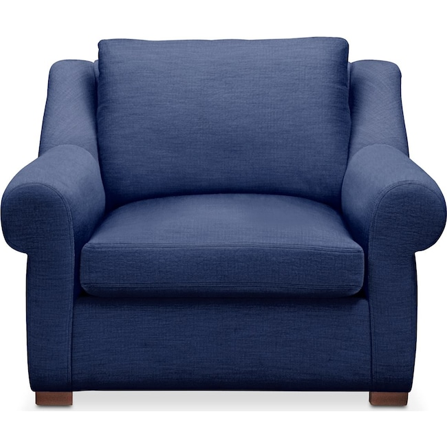 Living Room Furniture - Asher Chair- Comfort in Abington TW Indigo