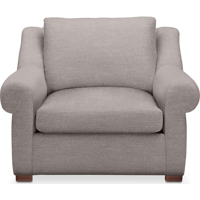 Living Room Furniture - Asher Chair- Cumulus in Curious Silver Rine