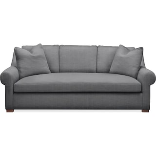 Asher Sofa- Comfort in Depalma Charcoal