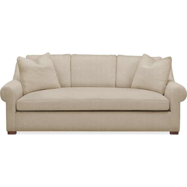 Living Room Furniture - Asher Sofa- Comfort in Depalma Taupe