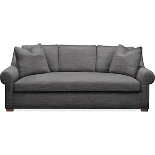 Asher Sofa- Comfort in Curious Charcoal