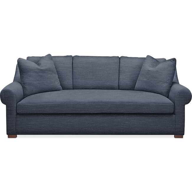 Living Room Furniture - Asher Sofa- Comfort in Curious Eclipse