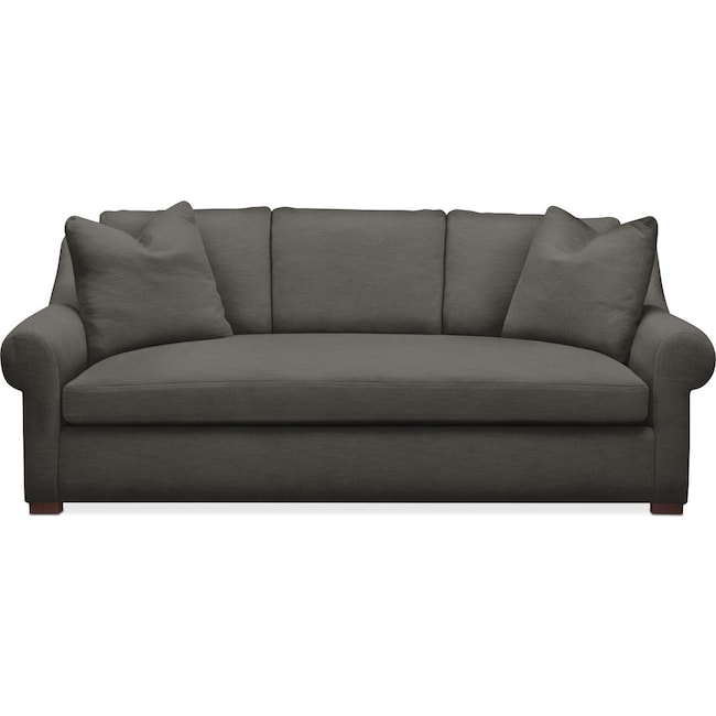Living Room Furniture - Asher Sofa- Comfort in Statley L Sterling