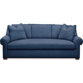 Asher Sofa- Comfort in Hugo Indigo