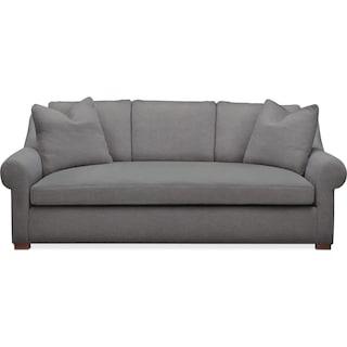 Asher Sofa- Comfort in Hugo Graphite