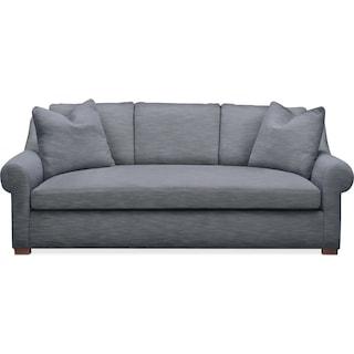Asher Sofa- Comfort in Dudley Indigo