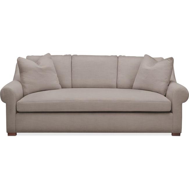 Living Room Furniture - Asher Sofa- Comfort in Abington TW Fog