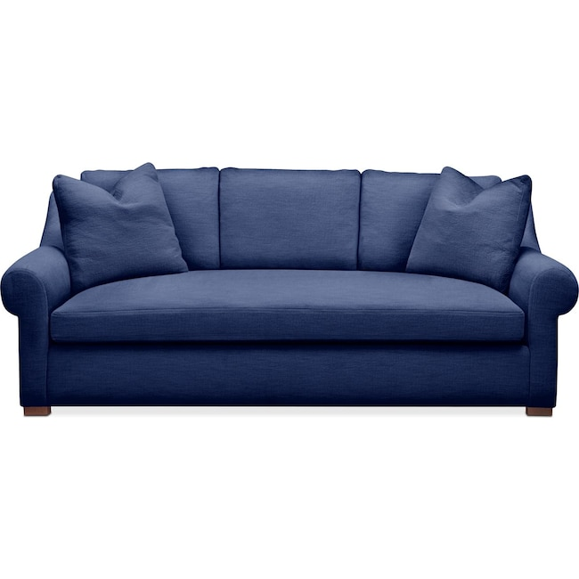 Living Room Furniture - Asher Sofa- Comfort in Abington TW Indigo