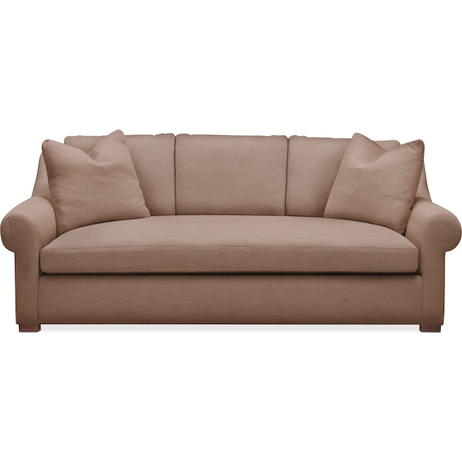 Living Room Furniture - Asher Sofa- Comfort in Abington TW Antler