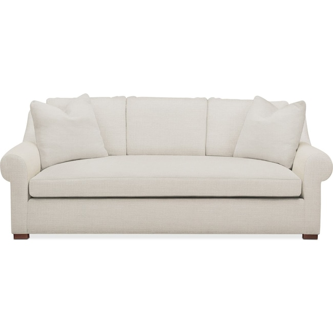 Living Room Furniture - Asher Sofa- Comfort in Anders Ivory
