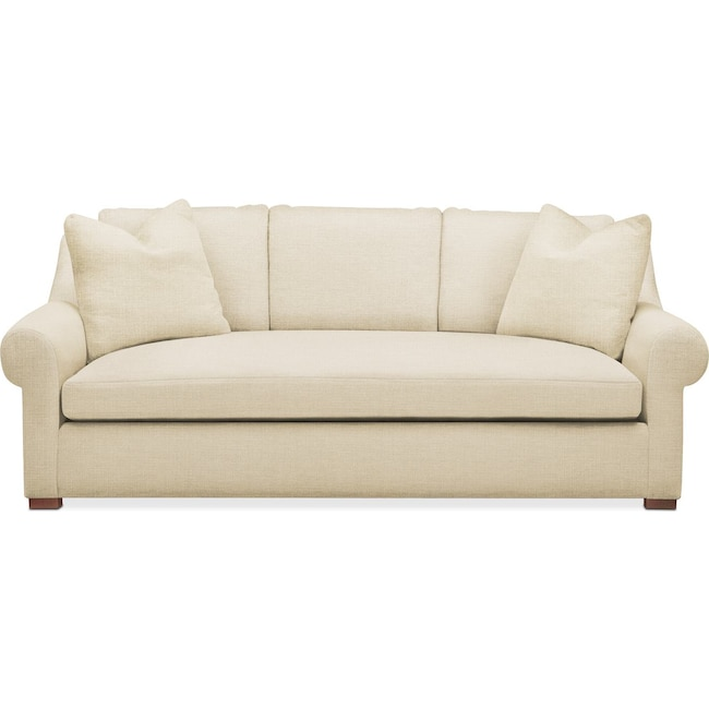 Living Room Furniture - Asher Sofa- Comfort in Anders Cloud