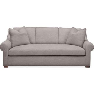 Asher Sofa- Cumulus in Curious Silver Rine