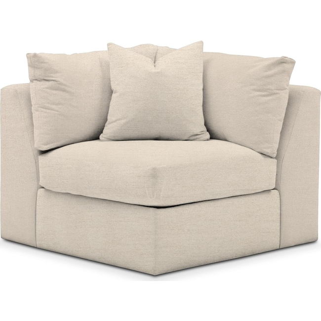Living Room Furniture - Collin Corner Chair- Comfort in Curious Pearl
