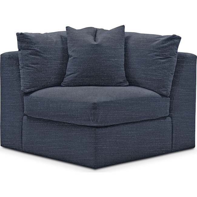 Living Room Furniture - Collin Corner Chair- Comfort in Curious Eclipse