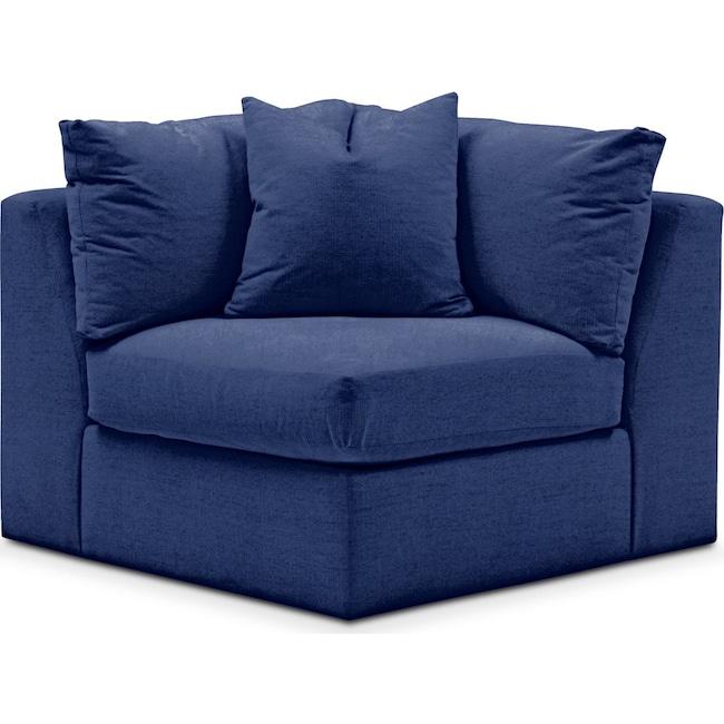 Living Room Furniture - Collin Corner Chair- Comfort in Abington TW Indigo
