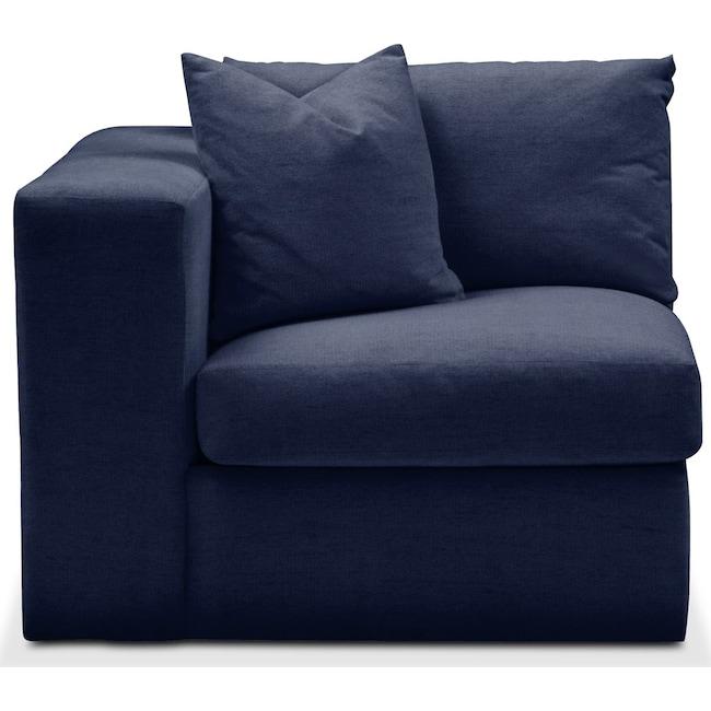 Living Room Furniture - Collin Left Arm Facing Chair- Comfort in Oakley III Ink