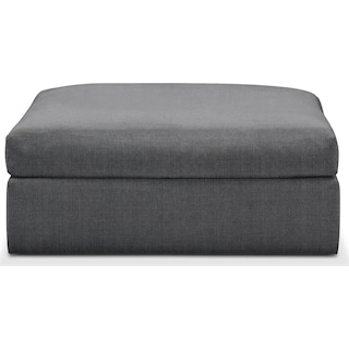 Collin Ottoman- Comfort in Depalma Charcoal