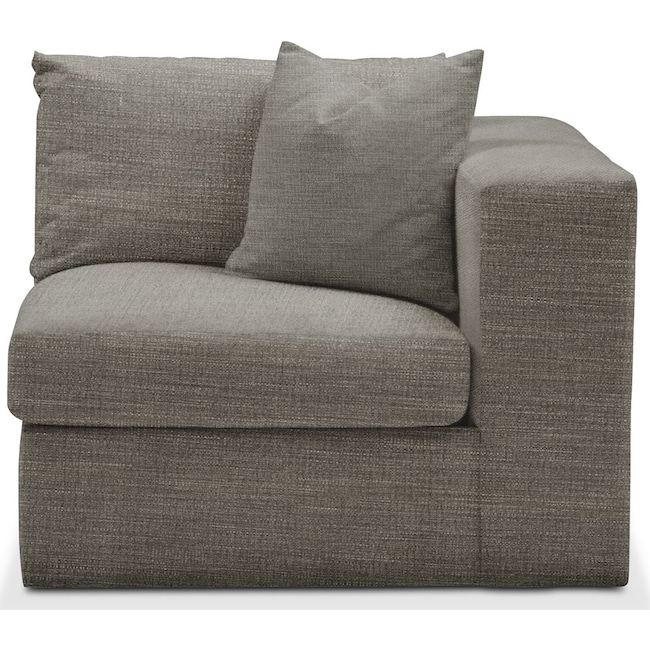 Living Room Furniture - Collin Right Arm Facing Chair- Comfort in Victory Smoke