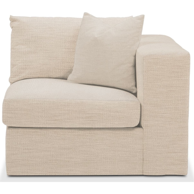 Living Room Furniture - Collin Right Arm Facing Chair- Comfort in Victory Ivory